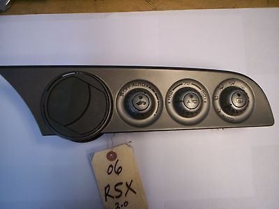 awesome HEATER AC CONTROL ACURA RSX 02 03 04 05 06 - For Sale