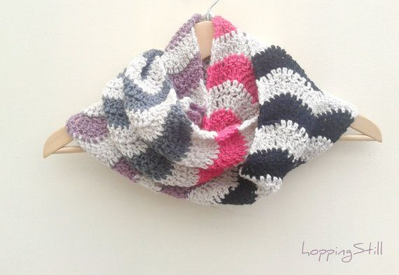 ... Infinity Scarf - PDF Crochet Pattern - Permission to sell finished