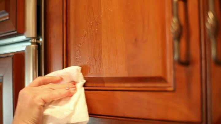 How To Clean Kitchen Cabinets Dried Drips