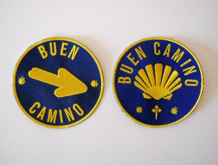 (http://www.spanishdoor.com/camino-de-santiago-way-of-st-james-buen-camino-pilgrim-cloth-patch-set/)
