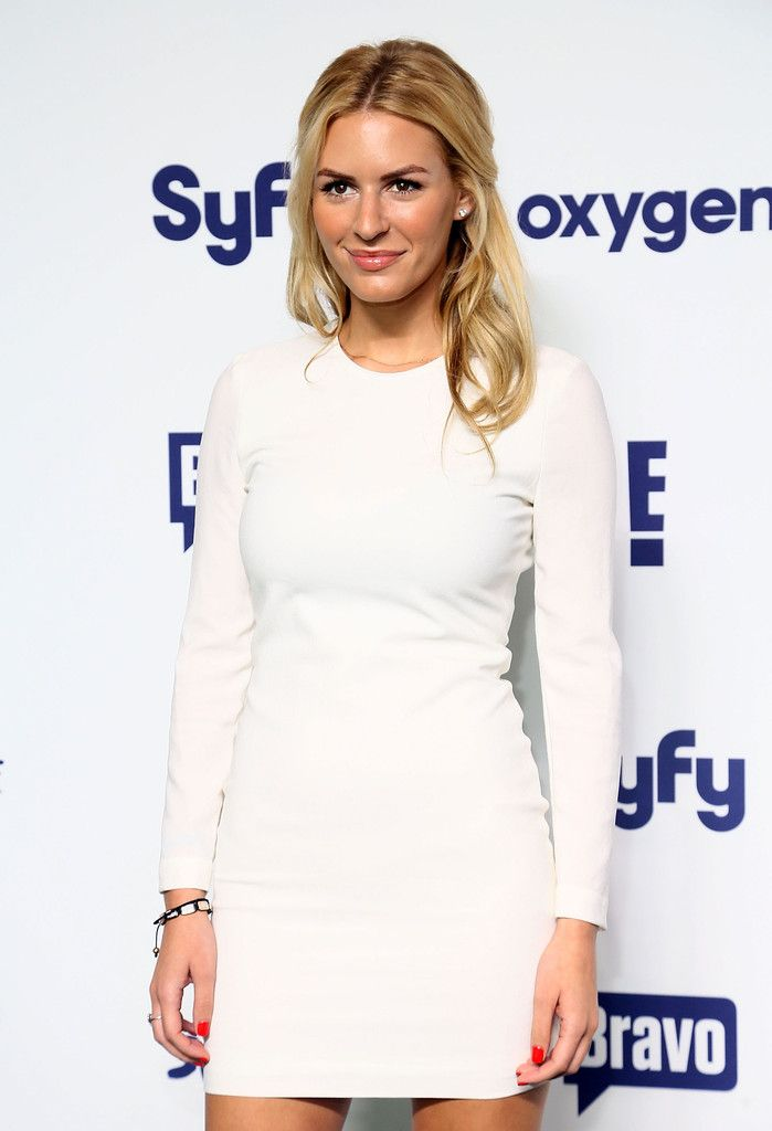 Morgan Stewart  attends the 2014 NBCUniversal Cable Entertainment Upfronts at The Jacob K. Javits Convention Center on May 15, 2014 in New York City.