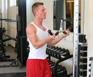 Photo for This or That: Tricep Push-downs vs. Pull-downs
