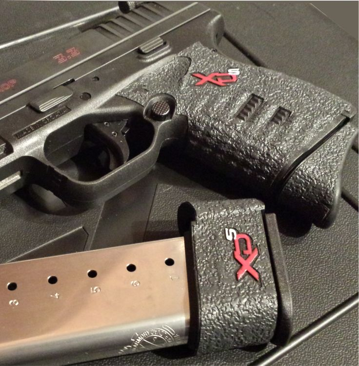 """TALON Grips for Springfield XD-S 9mm and .45 ACP single stack models with the 3.3"""" barrel (Rubber Texture)"""