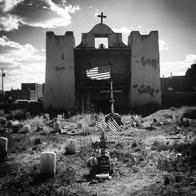 Old Pueblo church in Gallup,New Mexico.