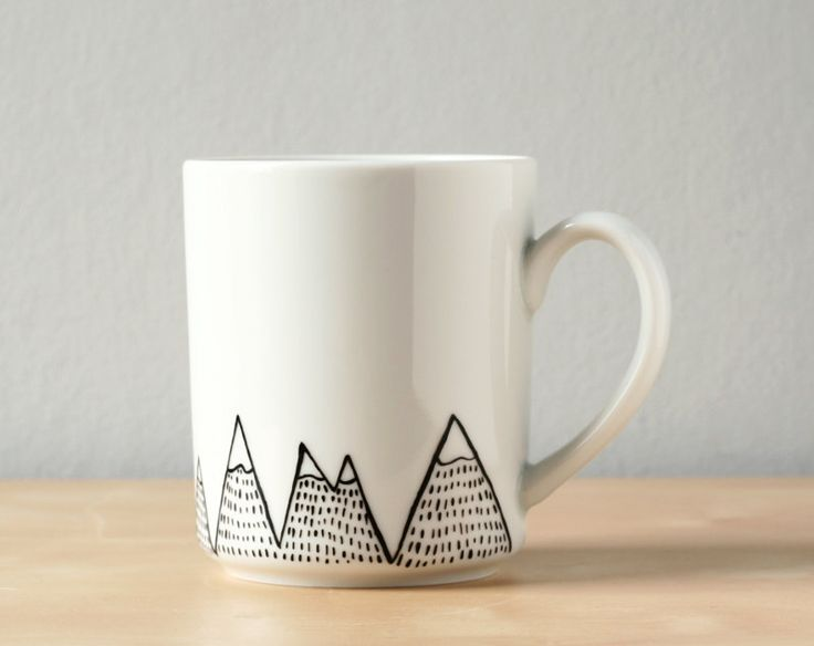 Cup Design Ideas modern interior design ideas for the summer18 cool geometric cup design ideas Hand Painted Mug