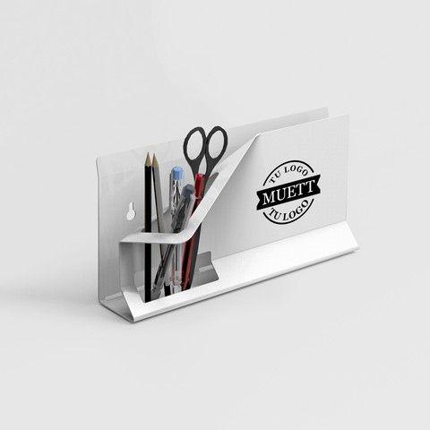 Organizador de escritorio con Logo