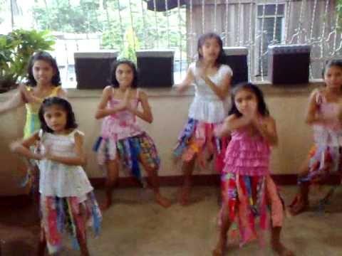 WAKA WAKA TUTORIAL by FILIPINO KIDS (Best Dance Steps)