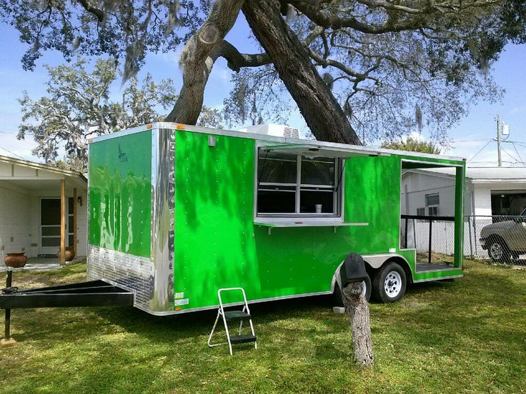 Consession Trailer For Sale - Tampa Bay Food Truck Rally