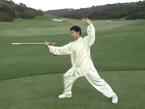 Tai Chi sword...lovely to watch, difficult to do well. http://taichicircle.vidlify.net