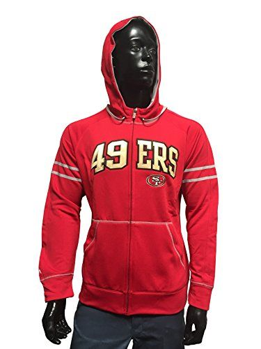 NFL San Francisco 49ERS Antigua Velocity Mens Hoodies Authentic XL San Francisco 49ers * More info could be found at the image url.
