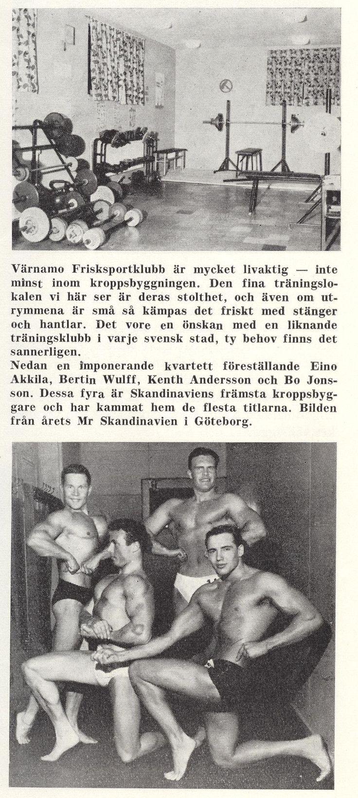 Sweden Värnamo - Värnamo Frisksportklubb 1962
