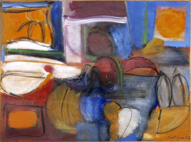 Grace Hartigan   William of Orange   Dimensions: 60 x 80 in. (152.4 x 203.2 cm.)