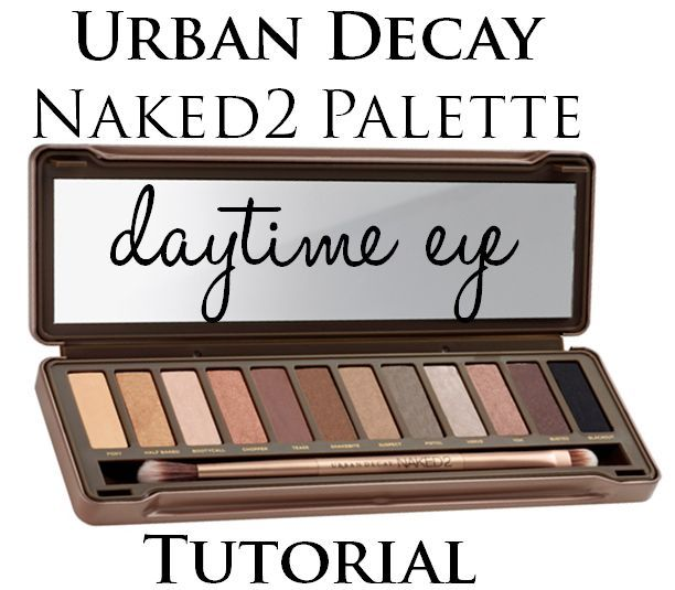 urban decay naked2 palette daytime tutorial soft g
