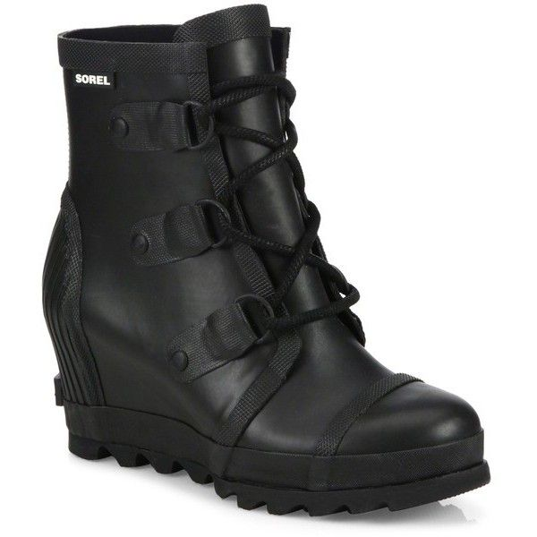 17 mejores ideas sobre Black Wedge Ankle Boots en Pinterest ...