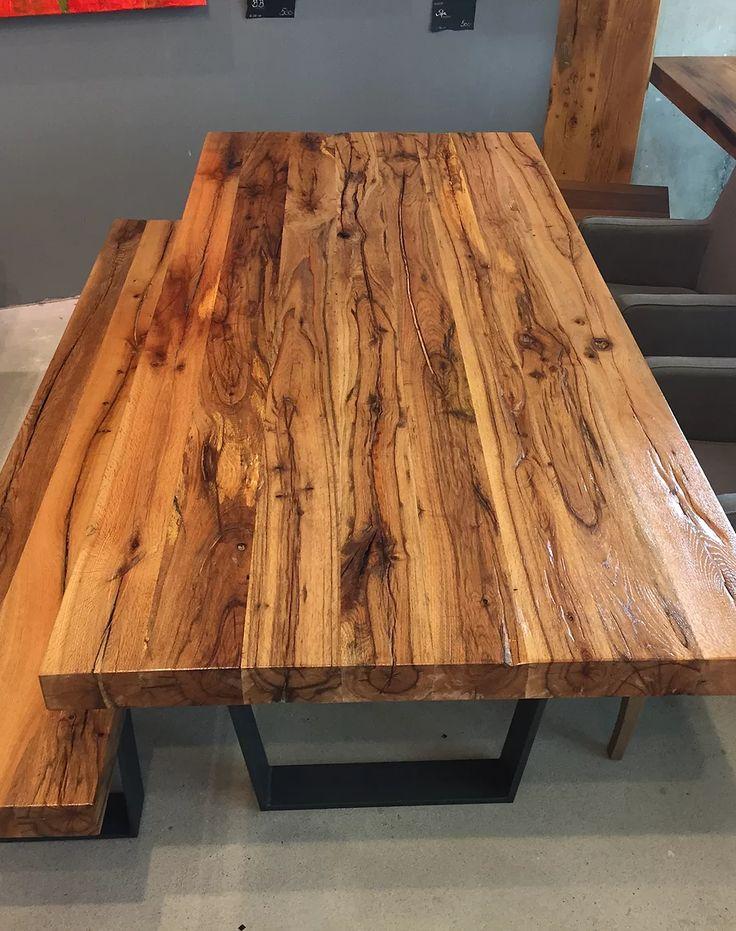 Ber ideen zu esstisch massivholz auf pinterest wohnk che schlafcouch und regiestuhl - Esstische aus massivholz ideen ...