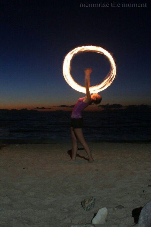 Fire dancing, fire patterns, flame dances, gordons bay, long exposure, firefly, bikini beach,