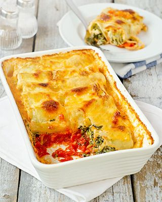 Amazing Cannelloni with Spinach and Ricotta