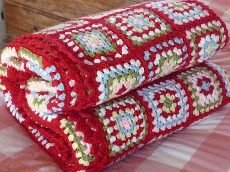 Cath Kidston inspired Granny Blanket made with Stylecraft Special DK