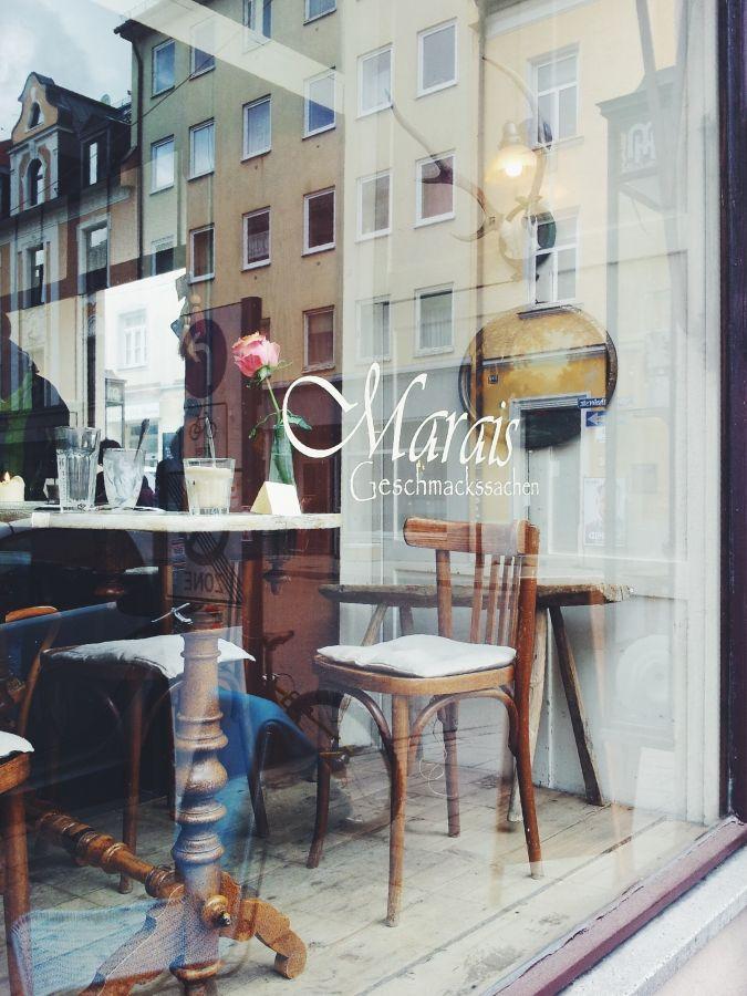 Café Marais im Westend