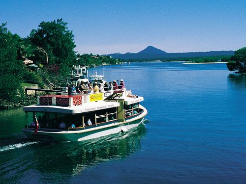 The Noosa Ferry Cruise Co., Tewantin, Queensland