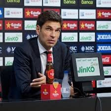 Struggling Premier League club Southampton sacked Argentinian manager Mauricio Pellegrino on Monday with only eight matches remaining in the league season.  Pellegrino took over at St Marys on a three-year deal last June but Southampton announced in a statement that they had parted company with the 46-year-old with the club only one place and one point above the relegation zone