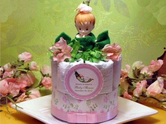 おむつケーキ diaper cake