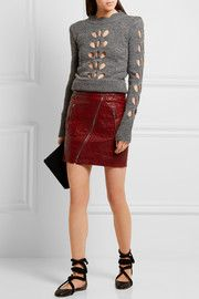 Ilia Pullover in Pointelle-Strick mit Cut-outs