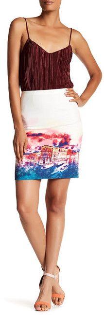 Robert Graham Berenice Print Woven Skirt