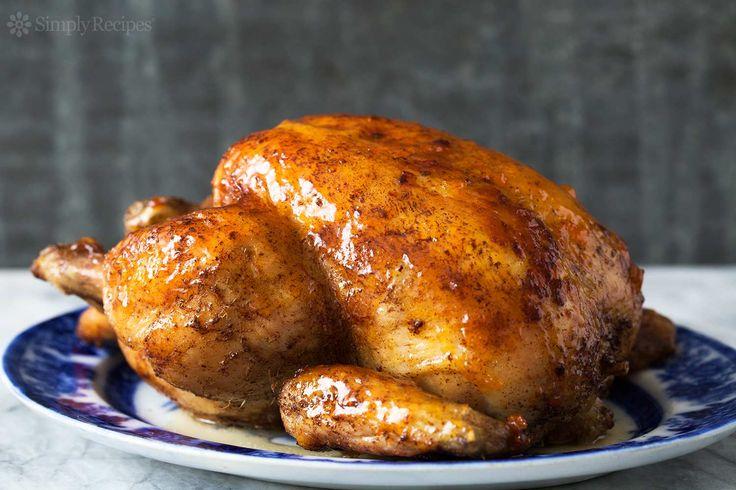 Egg Stuffed Chicken Roast