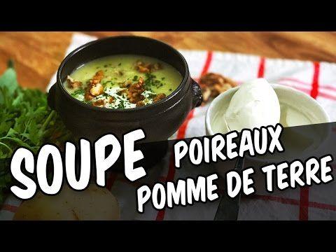 Soupe poireaux pommes de terre - YouCook - YouTube