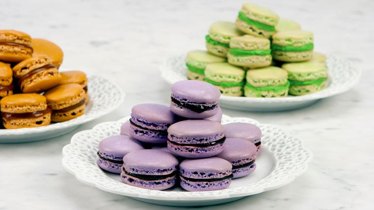 French Almond Macaroons - Recipes - Best Recipes Ever - These darlings of every French pastry shop are worth the effort and fuss for which they are famous.