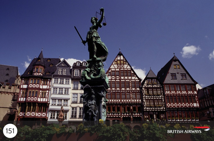 Frankfurt's financial district's glitzy skyline will wow you. Look beyond its skyscrapers and you'll be surprised by Sachsenhausen's cosy wine taverns and the half-timbered house fronts of 16th-century Römerberg Square. Come again for the wealth of museums lining Museumsufer (Museum Embankment) or the exclusive shops of fashion-minded Goethestrasse.