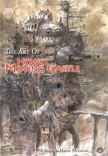 The Art of Howl's Moving Castle (Studio Ghibli Library) by Hayao Miyazaki,   Any Studio Ghibli Art book!!