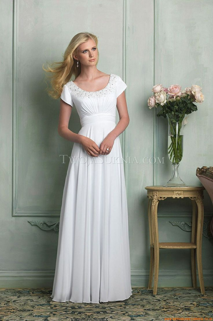 Wedding Dresses Allure M516 Modest 2014
