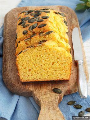 Кукурузный хлеб с тыквой