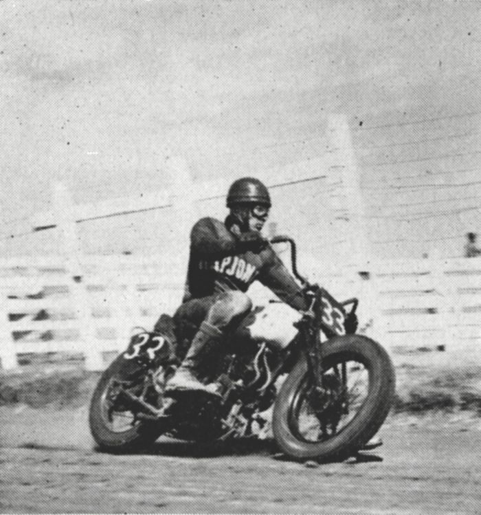 "bill brownell motorcycle racer. ""In 1946 Brownell moved to Chico and started Bill Brownell Indian-Cushman Motorcycle Dealership. Later he added Triumph and BSA brands to his business and finally Honda motorcycles in 1959. Bill's love of motorcycles made him a legend in the sport. He was also an avid racer himself, winning many awards all over California. Bill was instrumental in starting Cycleland Speedway south of Chico in the '60s when dirt track motorcycle racing was very popular. ."