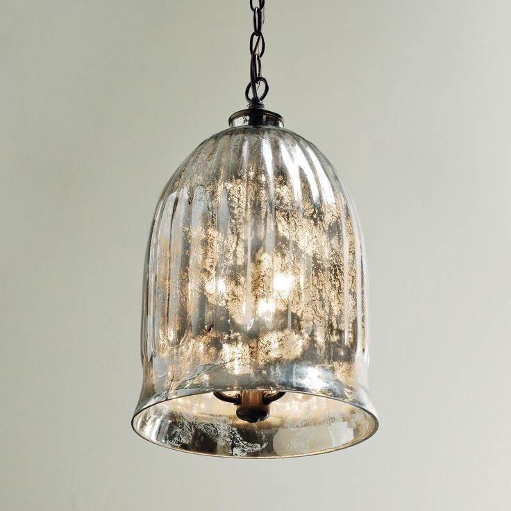 Antique Mirror Bell Pendant LanternPerfect as a lantern in ...