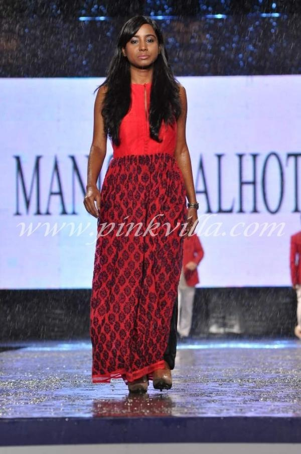 Manish Malhotras collection for CPAA fashion show.