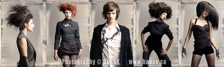 Hairstylist: Capello Salon. Photo: Babak. Love the girl on the far right :)