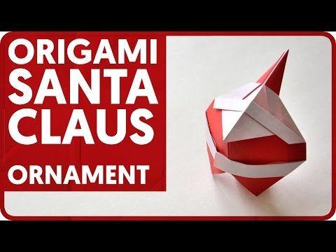 [DIAGRAM] Origami Santa Claus Ornament (Hideo Komatsu) - YouTube