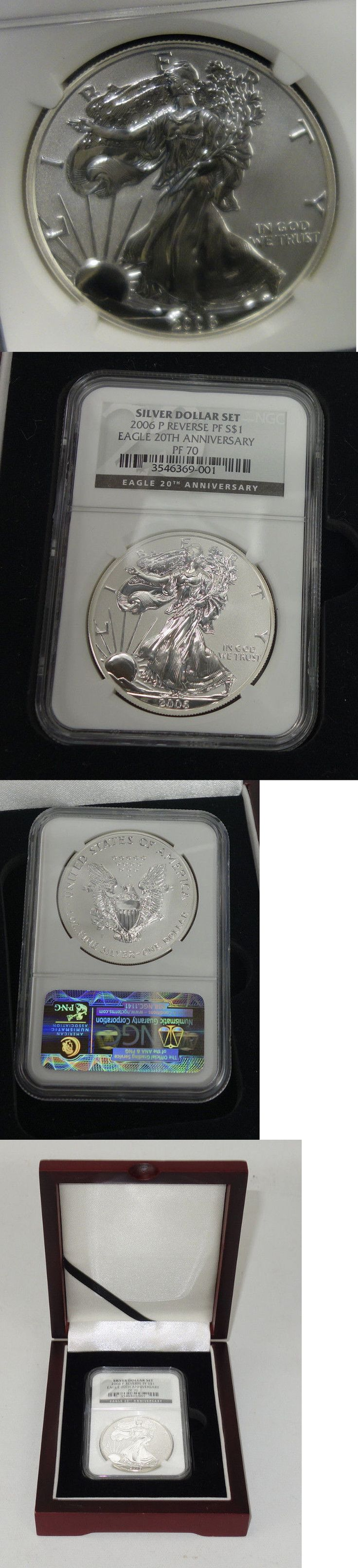 Bullion: 2006 Preverse Proof Silver Eagle Dollar Pf 40 Ngc With Box -> BUY IT NOW ONLY: $325 on eBay!