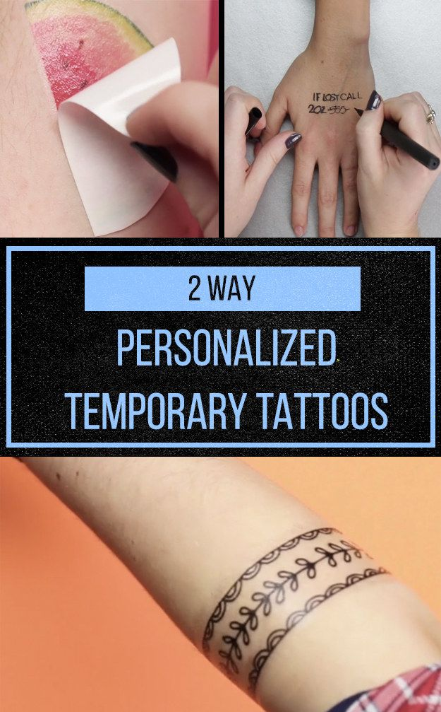These Borderline Genius Tattoo DIY Are Quick And Painless