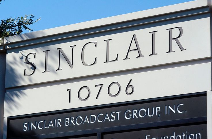 Sinclair Broadcast Group's 173 stations across the country stood out for their positive coverage of the Republican nominee.
