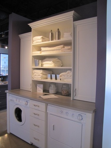 washer / dryer cabinets