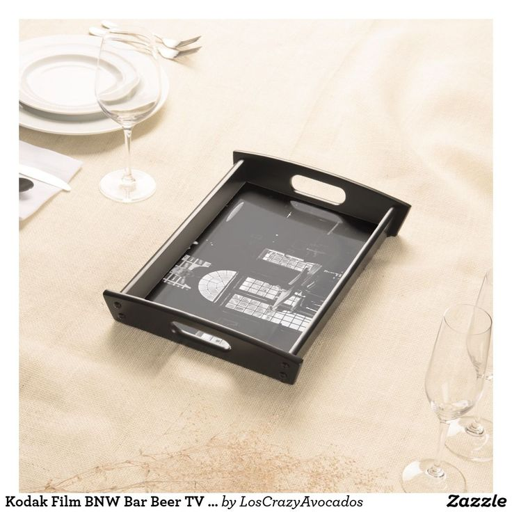 Kodak Film BNW Bar Beer TV Windows Serving Tray