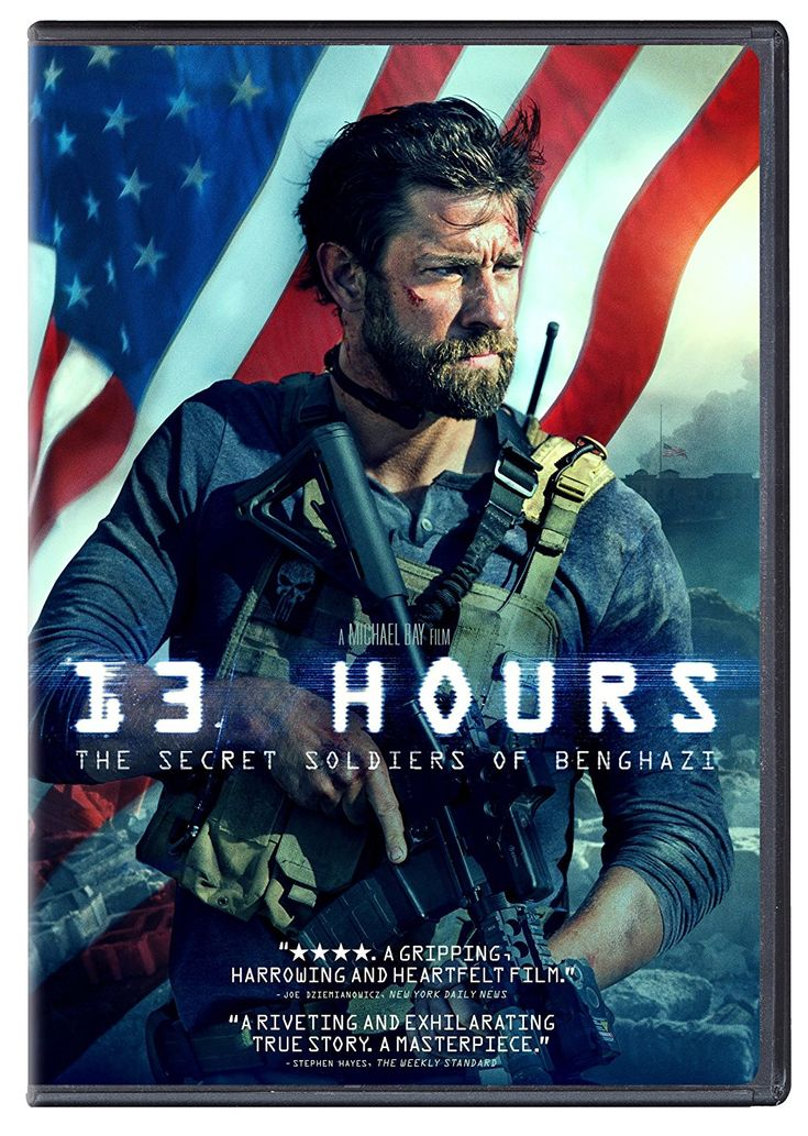 13 Hours: The Secret Soldiers of Benghazi.  Available to Check Out: 6/7/16. Based on the book by Mitchell Zuckoff. A gripping true story of six elite ex-military operators assigned to protect the CIA who fought back against overwhelming odds when terrorists attacked in the U.S. diplomatic compound on September 11, 2012. When everything went wrong, six men had the courage to do what was right. (Adult-Non-Fiction Rated R) 11/3/16