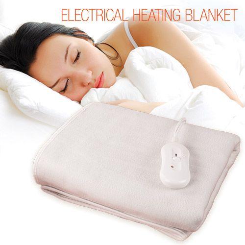 Comprar Manta Eléctrica Electrical Heating Blanket (Calienta Camas) 150 x 80 cm al mejor precio. Con esta estupenda manta eléctrica calienta camas se acabó el pasar frío en casa y el derrochar grandes cantidades de energía. Te presentamos un producto de máxima calidad y al mejor precio del mercado.