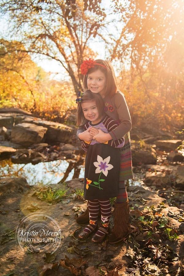 Fall Children Photography Session at Mingo Creek Park | Kristin Merck Photography Pittsburgh Child Photographer