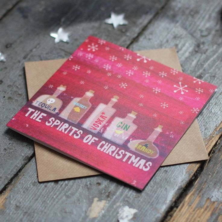 Are you interested in our christmas card packs? With our gin Christmas Card you need look no further.