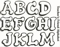 moldes de letras - Buscar con Google
